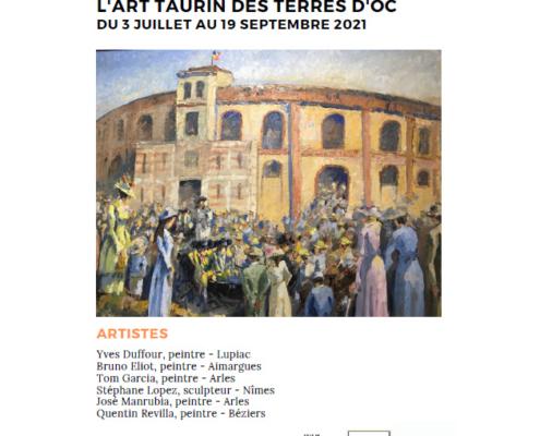 Exposition Musée Taurin Béziers 2021